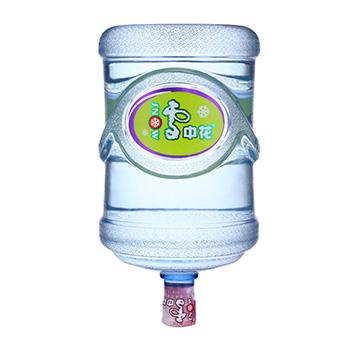 雪中花纯净水 13元/桶
