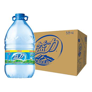 益力矿泉水5L*4支/箱 40元/箱