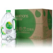 屈臣氏蒸馏水4.5L*4支 58元/箱