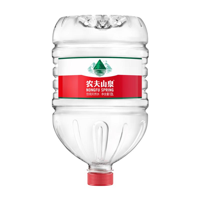 农夫山泉一次性桶装水12L
